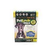 Petlock Dogs Over 55 lbs. Flea & Tick Topical  Dogs Flea & Tick Topical Treatment