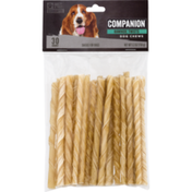 Companion Rawhide Twists Dog Chews