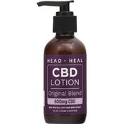 Head + Heal CBD Lotion, Original Blend