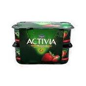 Danone Strawberry Activia Yogurt