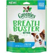Greenies Breath Buster Bites Fresh Dog Treats