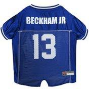 Pets First Medium Odell Beckham Junior New York Giants Mesh Dog Jersey