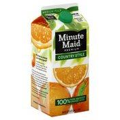Minute Maid Orange Juice, Country Style, Medium Pulp