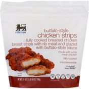 Food Lion Chicken Strips, Buffalo-Style, Pouch