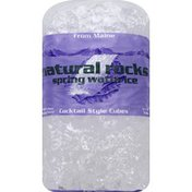 Natural Rocks Ice, Spring Water, Cocktail Style Cubes