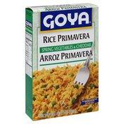 Goya Rice Primavera, Spring Vegetables & Cheddar