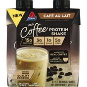 Atkins Protein Shake, Iced Coffee, Cafe Au Lait