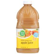 Food Club 100% Honey Crisp Apple Juice