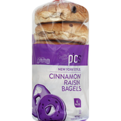 PICS Cinnamon Raisin Bagels