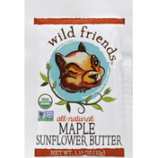 Wild Friends Sunflower Butter, Squeeze Pack, Maple