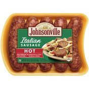 Johnsonville Sausage Italian Sausage Hot