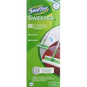 Swiffer Starter Kit, 2 in 1, Sweeping & Mopping