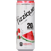 Fizzique Protein Water, Sparkling, Strawberry Watermelon
