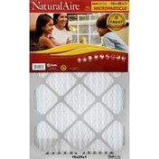 NaturalAire Air Cleaning Filter, Microparticle, 16 x 25 x 1