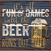 Conimar Pallet Coaster, Beer Runs Out, 6 MC