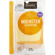 Essential Everyday Cheese, Muenster, Sliced