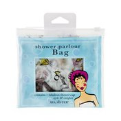 Spa Sister Parlour Bag with Shower Cap