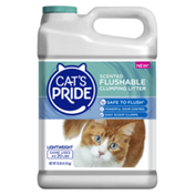 Cat's Pride Flushable Scented Lightweight Clumping Clay Cat Litter