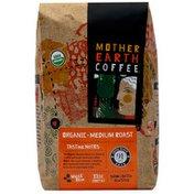 Mother Earth Coffee Medium Roast, Whole Bean Coffee