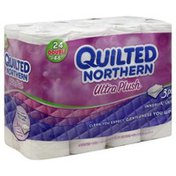 Quilted Northern Bathroom Tissue, Double Rolls, 3 Ply