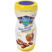 Blue Diamond Almonds, Oven Roasted, Honey