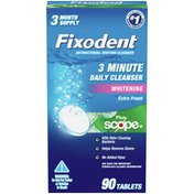 Fixodent Daily Denture Cleanser
