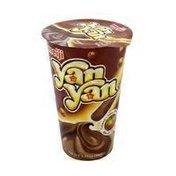 Meiji Yanyan Creamy Choco Hazelnut Dip Biscuit Snack