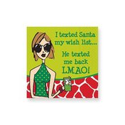 Design Design He Texted Back Holiday Napkins