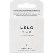 LELO HEX Latex Condoms, Re-Engineered, Original