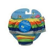 i play Boys Snap Reusable Absorbent Swimsuit Diaper - 12 Months