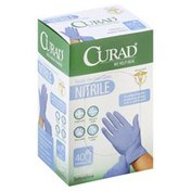 Curad Gloves, Nitrile, Universal, Box