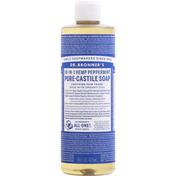 Dr. Bronner's Liquid Soap, Pure-Castile, Peppermint