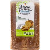 Nature's Promise Sandwich Bread, Artisan Style, Rye