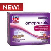 Rite Aid Omeprazole Orally Dissolving Tablet, 42 ct