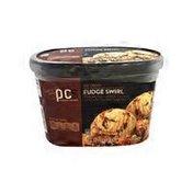 PICS Fudge Swirl Ice Cream