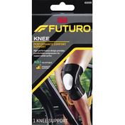 FUTURO Knee Support, Performance Comfort, Adjustable, Moderate Support