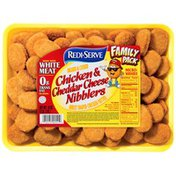 Redi Serve Family Pack Breaded & Cooked Chicken & Cheddar Cheese Nibblers