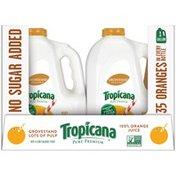 Tropicana Grovestand Pure Premium Lots of Pulp Orange Juice