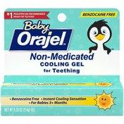 Orajel Non-Medicated Cooling Teething Gel - Daytime,