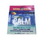 Natural Vitality Natural Calm Magnesium Supplement Raspberry Lemon Flavor Powder