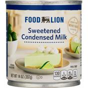 Food Lion Condensed Milk, Sweetened