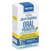 Jarrow Formulas Oral Probiotic, Fresh Peppermint, Lozenges