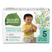 Seventh Generation Baby Free & Clear Stage 5 (27+ lb) Diapers