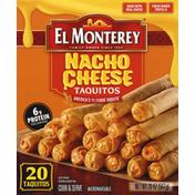 El Monterey Nacho Cheese Flour Taquitos