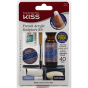 Kiss Sculpture Kit, French Acrylic