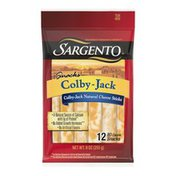 Sargento Colby-Jack Natural Cheese Snack Sticks