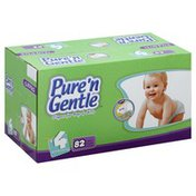 Pure 'n Gentle Diapers, for Boys & Girls, 4 (22-37 Pounds), Club Pack