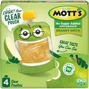 Mott's No Sugar Added Granny Smith Applesauce