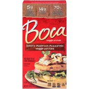 Boca Savory Mushroom Mozzarella Veggie Patties