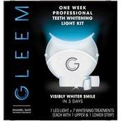 Gleem One Week Professional Teeth Whitening Light Kit